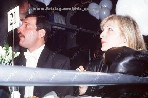 Freddie and Mary Austin - Freddie Mercury Photo (13602546) - Fanpop