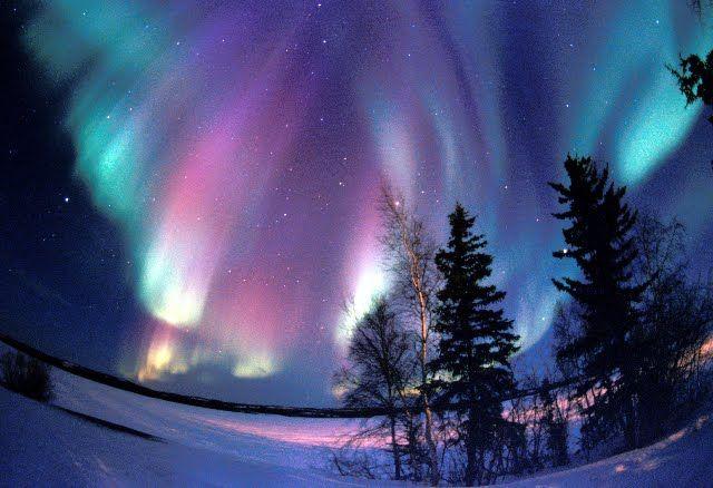 Alaska.  I want to see the Aurora Lights.