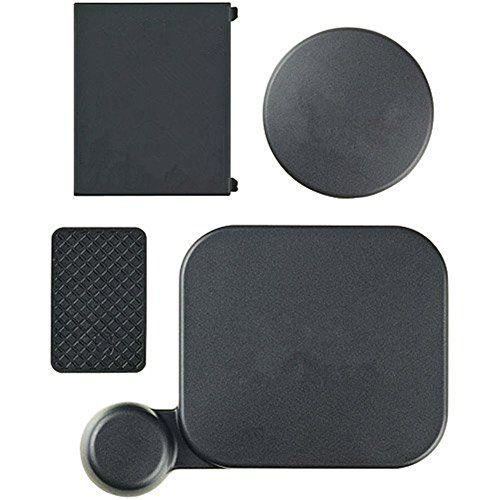 * TOOGOO es una marca registrada. SoLO vendedor autorizado de TOOGOO puede vender bajo productos TOOGOO anuncios.Nos mejorara su experiencia a la inspiracion inigualable. TOOGOO (R) Funda de proteccion y la lente de camara la bateria puerta lateral Cubiertas Kit para GoPro Hero 3 SoLO NegroCantidad: 4 piezasColor: NegroPeso: 20 gLista de embalaje: 1 x cubierta de la lente de la camara;1x Estandar Cubierta de la lente funda;1x Reemplazo Bateria Puerta;1x Reemplazo puerta later