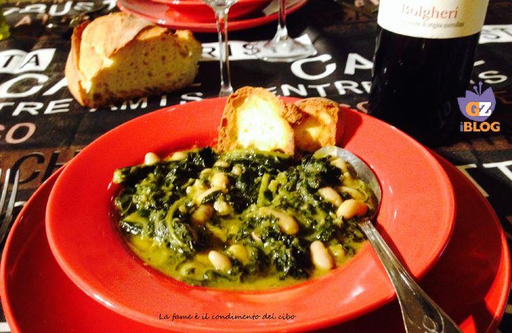 Per pranzo, una bella zuppa toscana: la Ribollita! #zuppa #minestra #ricetta #verdure #BlogGZ