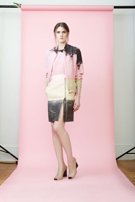 Akris Resort 2014 - This prints are amazing, soft and delicate #Resort2014