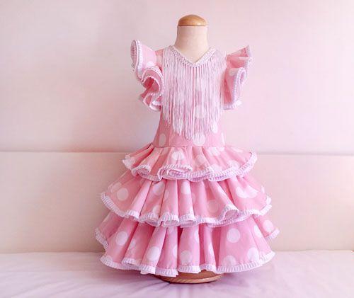 Vestido niña de flamenca-patronesmujer