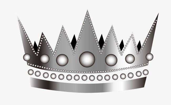 Vector Cartoon Silver Crown Silver Crown Crown Art Crown Png
