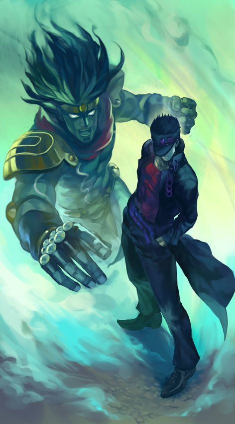 Jojo's Bizarre Adventure | Star Platinum and Jotaro Joestar