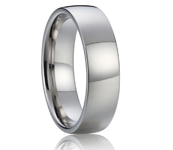 classic Custom-Tailor Europe Quality Standard  6mm Handmade high polishing mens titanium ring anel masculino #Affiliate