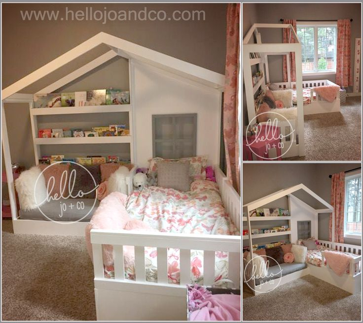 17 best ideas about toddler bed rails on pinterest bed for Boy girl twin bedroom ideas