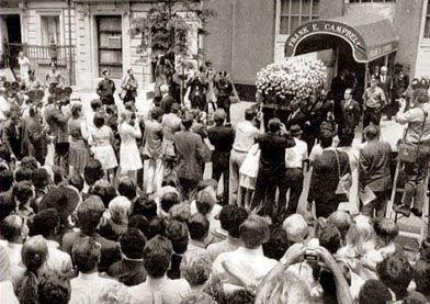 Judy Garland's Funeral | 1969