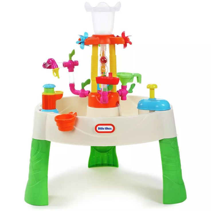 Buy little tikes fountain factory water table sand and