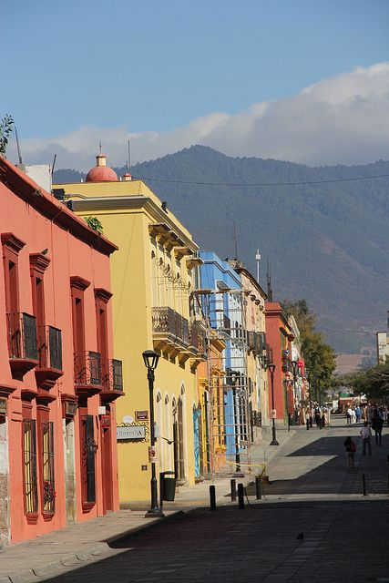 Oaxaca, Mexico -- a small city in the mountains of southern Mexico.