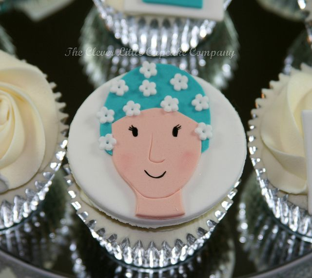 Retro Swimmer Cupcake by The Clever Little Cupcake Company (Amanda), via Flickr
