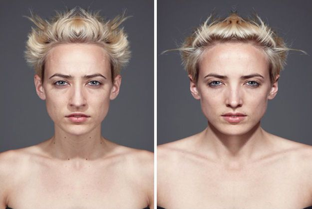 What Would We Look Like With Perfectly Symmetrical Faces? [Pics]