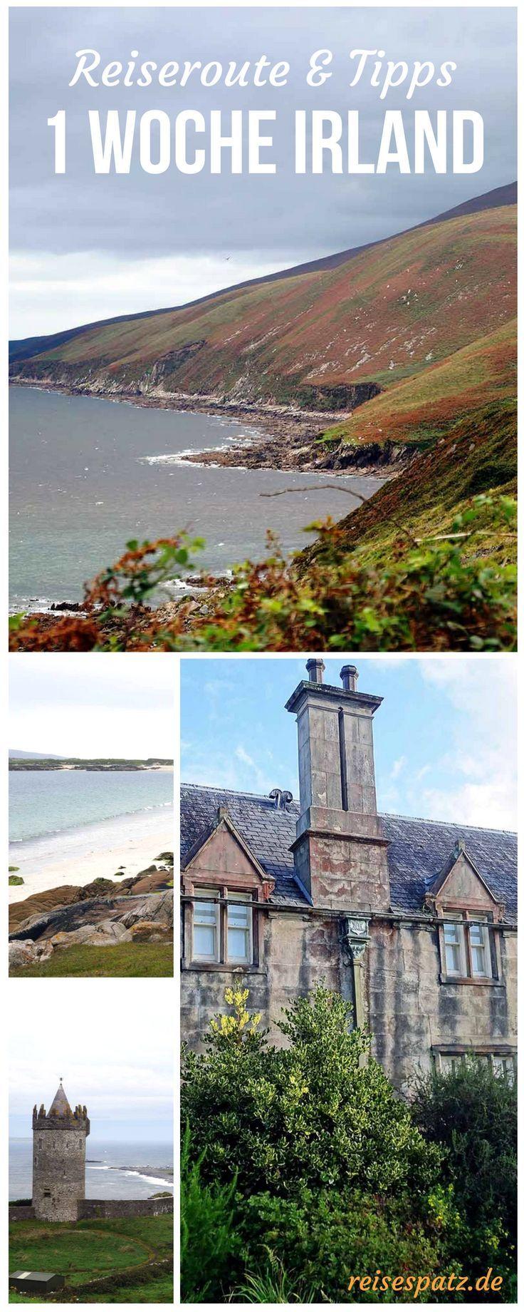 Irland Sehenswürdigkeiten an der Westküste – Reiseblog ReiseSpatz – #Der #Irla…