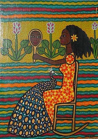 nenasoulfly:    osun ~ reflection  love, sweetness, sensuality , strength & beauty.