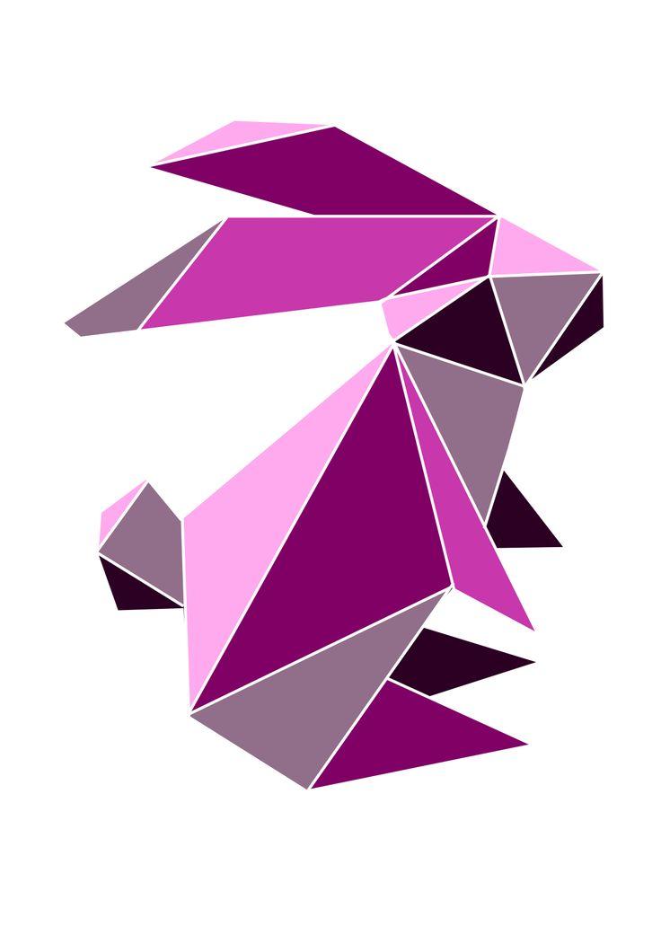11 besten origami bilder auf pinterest ostern kaninchen und grafiken. Black Bedroom Furniture Sets. Home Design Ideas