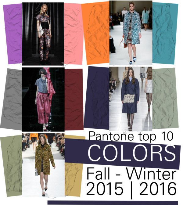 Colors to consider for custom art. Need to have available late Aug. Top 10 Fashion colors Fall/Winter 2015-2016.