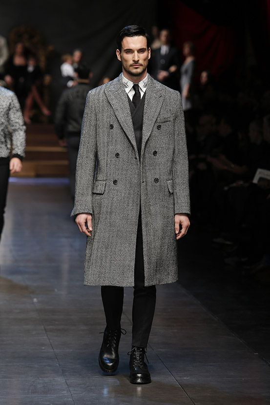 Living A Beautiful Life Dolce Gabbana Winter 2016 Men 39 S Fashion Show Refined Industrial