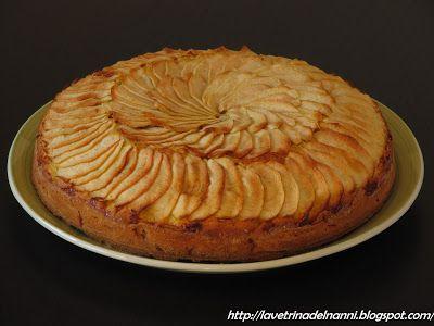 torta di mele al rum