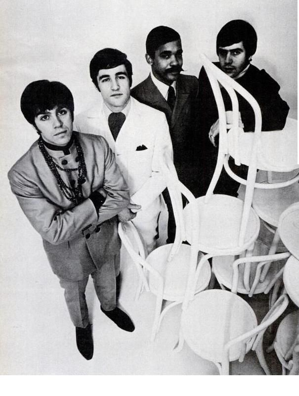 THE AMERICAN BREED .....1968 ..   active from 1962-1970 .... evolved into the band Rufus .... from Chicago ......... .. L-R .... Gary Loizzo .... Lee Graziano   ........   . Charles Colbert, Jr .... Al Ciner