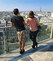 Výhledy na střechy Paříže