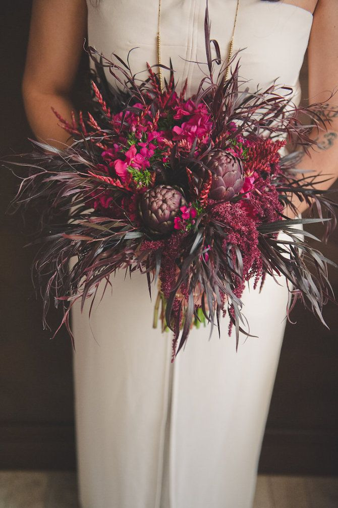 Bohemian wedding bouquet- www.efilasvegas.com Enchanted Florist Las Vegas