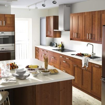 Nice Kitchen Cabs And Counter. Find This Pin And More On Kitchen Cabinet  Handle Placement ...