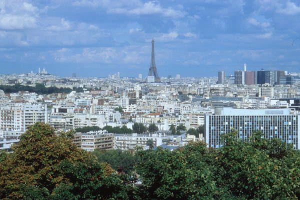 StCloud-LeParc - une vue extraordinaire sur Paris