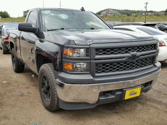Salvage 2015 Chevrolet Silverado Work Truck Pickup Trucks