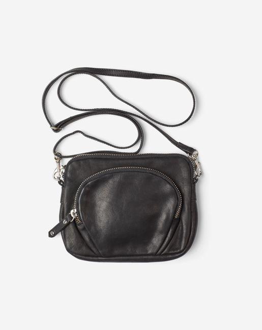 Mini Leather Bag Black