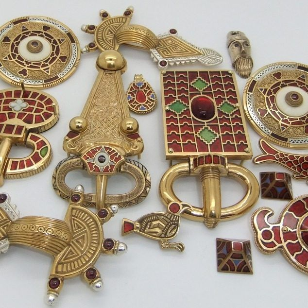anglo saxon brooches and buckles                                                                                                                                                      More