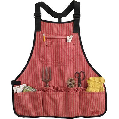 Duluth Trading's Women's Utility Apron - I want one to carry me through every job and project, inside and out, in a day at the hacienda.