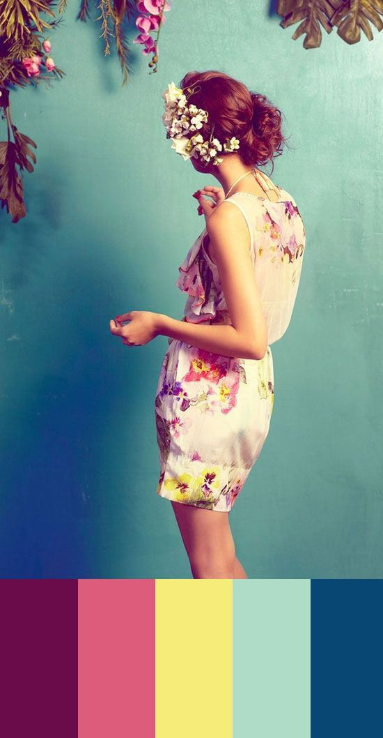 floral jumpsuit short overall paleta azul y rosa