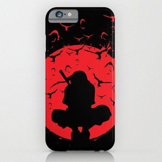 Sasuke Uchiha - Silhouette Itachi iphone case, smartphone - Balicase