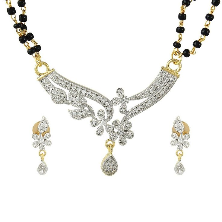 Silver Gold Plated MangalSutra