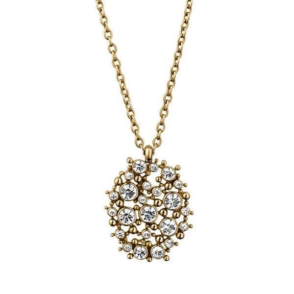 Dyrberg/Kern Reptansia Gold Necklace