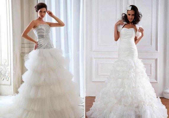 Öltözz hercegnőnek! Habos menyasszonyi ruhák tüllel | retikul.hu