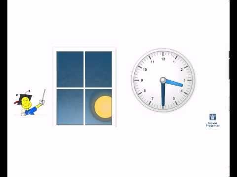 Klokkijken - introductie halve uren