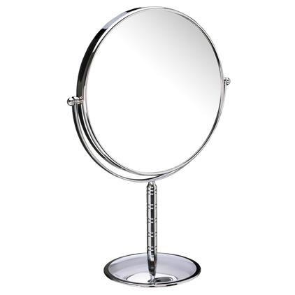 John Lewis Chrome Stand Mirror