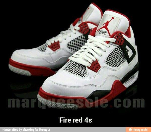 nike air jordan retro 4 iv white - fire red 2012 acura