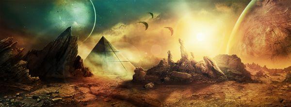 Stargate SG-1 Unleashed Concept Art by Samuel Santos, via Behance