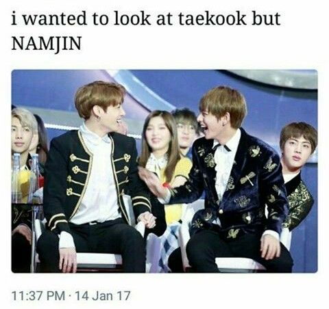 Taekook en RM and Jin are so done with them