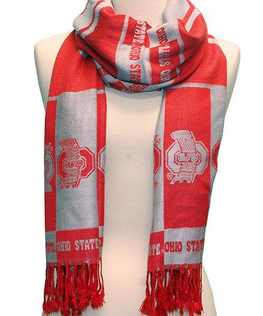 Take a look at this Ohio State Buckeyes Scarf by Sandol on #zulily today!