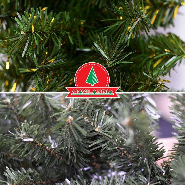 tenemos rboles de navidad solo con ramas de pvc y de pvc ms polietileno dos