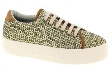 Basket dorée, marque No Name, prix: 79,95 € http://www.chausty.com/no-name-baskets-mode-chaussures-or-bronze/a29047/