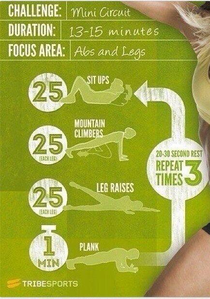 Motiva tu mente y el cuerpo te seguirá. ¿Seguimos entrenando nuestro #core? Mira esta rutina de piernas y abdomen que se puede hacer en el gimnasio, en casa o en un parque. ¿Te apuntas? Motivate the mind, the body will follow. We propose you this abd and leg easy routine. You can do it whatever: at gym, at home, in a park… #keepontrack