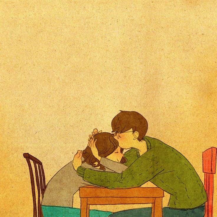 """♥ """"Thank you for loving me.""""  ♥  by Puuung at https://www.facebook.com/puuung1?fref=ts  ♥"""