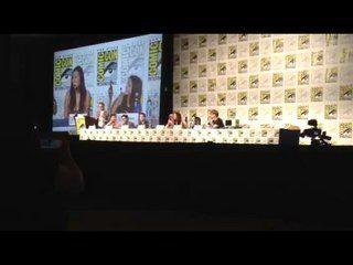 Adventure Time - Season 6: Comic-Con 2014: Panel - Olivia Olson and Jeremy Shada Sing --  -- http://www.tvweb.com/shows/adventure-time/season-6--comic-con-2014-panel-olivia-olson-and-jeremy-shada-sing