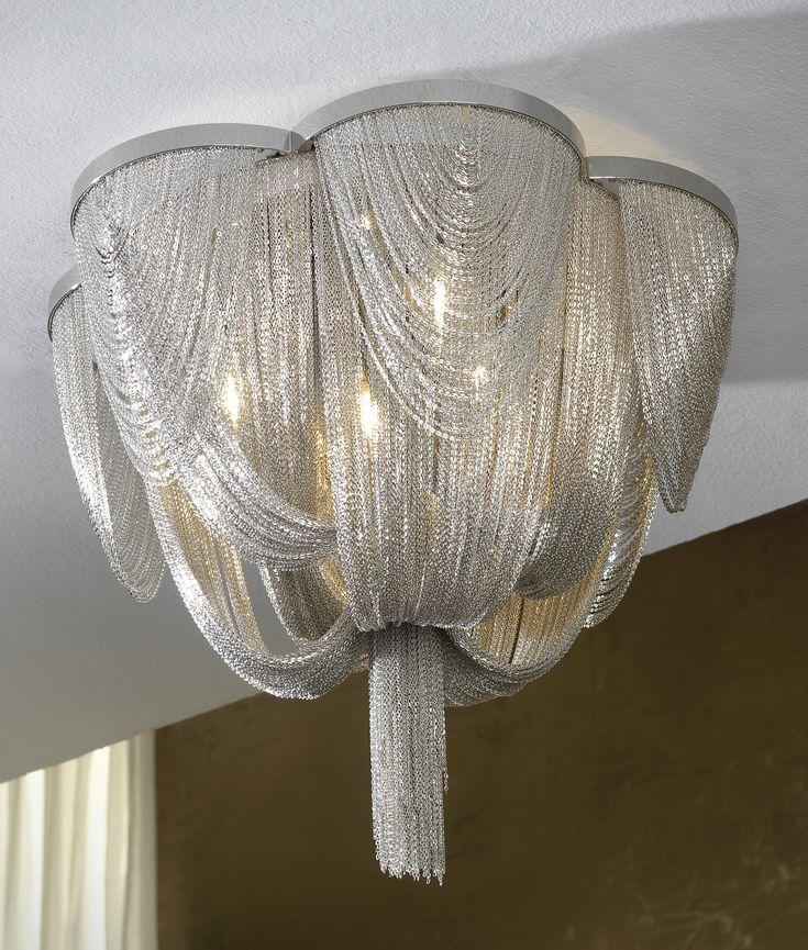 Chain Hanging Ceiling Light. Hängende DeckenleuchtenLichterketteKronleuchter Decken