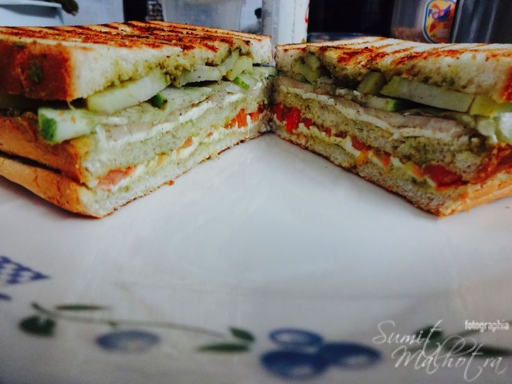 Bombay Sandwich Recipe right from the Streets of Mumbai. Bombay sandwich is a classical & popular Bombay street food snack. Click & make.