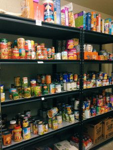 Starting a food pantry for church