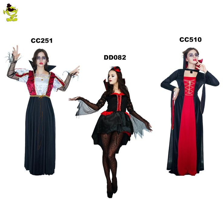 2017 Women's Devil Vampire Costumes For Women's Sexy Halloween Costumes Black Evil Queen Costume Party Cosplay Dress Welcome To Our Store    Why ChooseOur Store?  1) Alice Costumes Shop is an aliexpress online store which provides the best products and service to all customers.  2) Outstanding quality! Factory Price!  3) Welcome wholesalers, distributors, resellers and agent request!!!  4)...